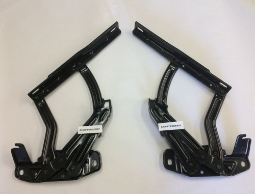 65 66 67 Chevy Impala Bel Air Biscayne Caprice New Hood Hinges Pair