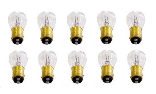 1157HP 12 Volt Tail Light Brake Stop Turn Signal Lamp Bulbs HI Power 50/14W 10PC