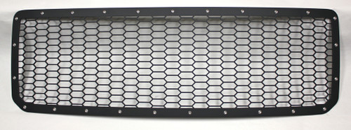 15 16 17 18 19 GMC Canyon Custom Black Mesh Aluminum 1-Piece Grille with Stainless Bolts