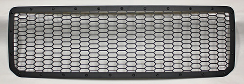 15 16 17 18 19 GMC Canyon Custom Black Mesh Aluminum Custom 1-Piece Grille with Black Bolts