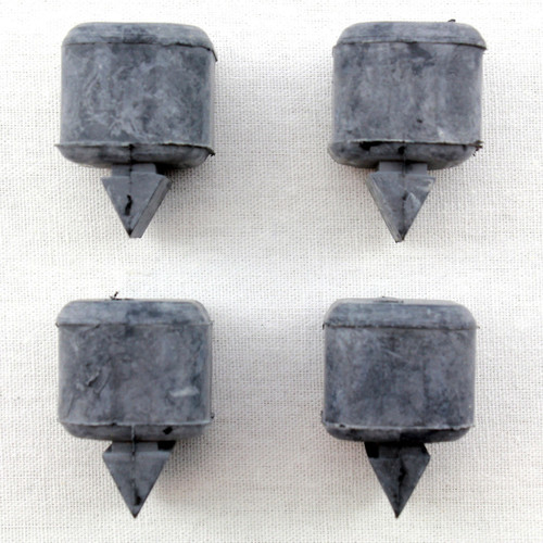 66 67 Chevy Chevelle Malibu Pontiac GTO Olds 442 GS Door Rubber Bumpers Stoppers