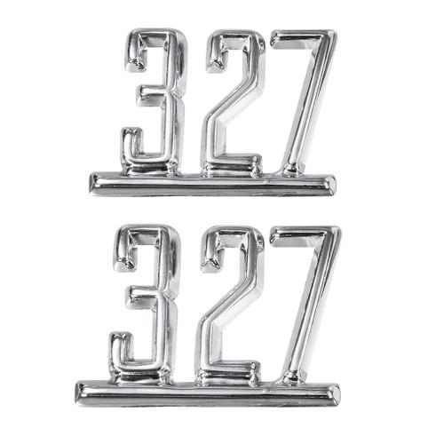 65 66 67 Chevy Chevelle Impala Nova Camaro 327 Fender Emblems 1965 1966 1967