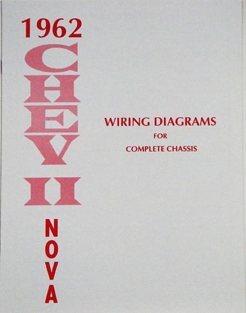 62 1962 CHEVY NOVA ELECTRICAL WIRING DIAGRAM MANUAL