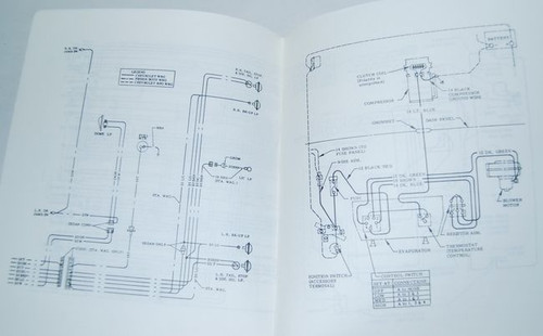 68 Chevelle El Camino Electrical Wiring Diagram Manual