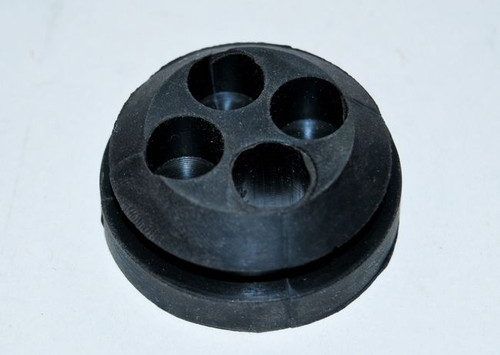 55 56 CHEVY 4-HOLE FIREWALL WIRING RUBBER GROMMET