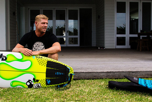 Mick 'Eugene' Fanning's Signature traction pad is the Mick Fanning alter-ego pad.
