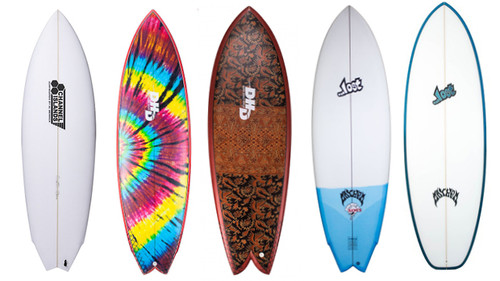 The FCS II Twin And Keel Fin Range