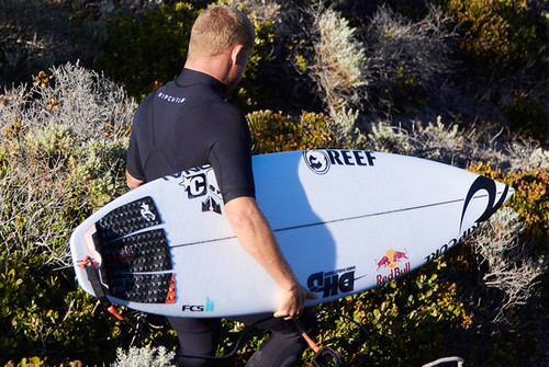 Nobody stacks up with Mick's smooth and precise style of surfing