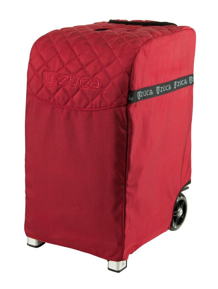 ZÜCA Pro Travel Ruby Red/Silver - w/cover