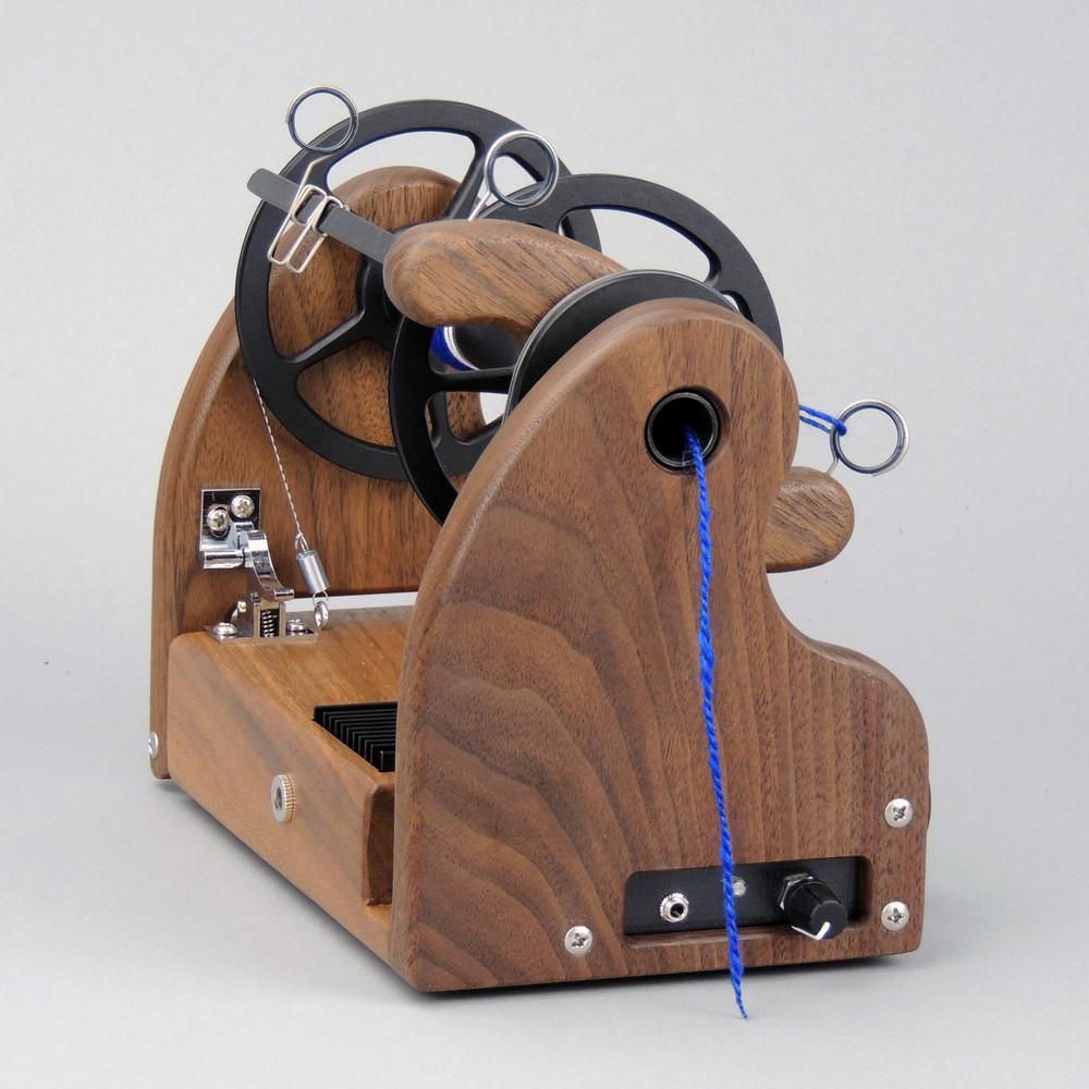Gorgeous Walnut HansenCrafts miniSpinner v2!