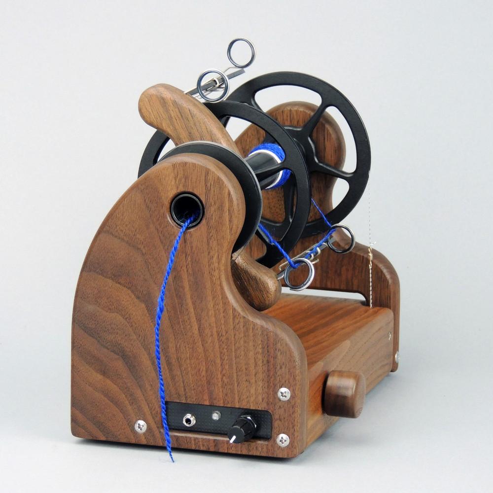 Classic miniSpinner w/ HansenCrafts Standard flyer - Walnut