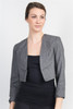 Stone Grey Bolero Blazer is 25% Wool!