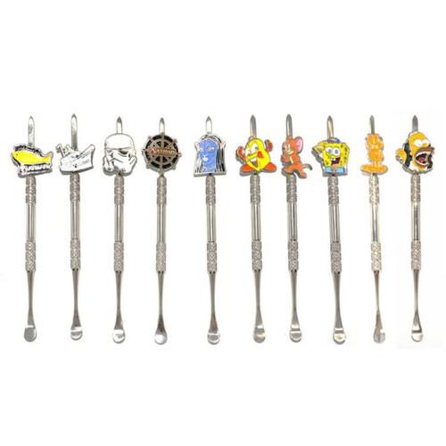 Atman Stainless Steel Character Dabber Carving Tool