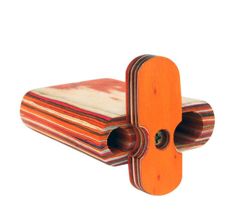 """Small Wood Spring Loaded Dugout 4"""""""