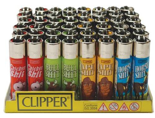 Clipper Super Animal Lighters