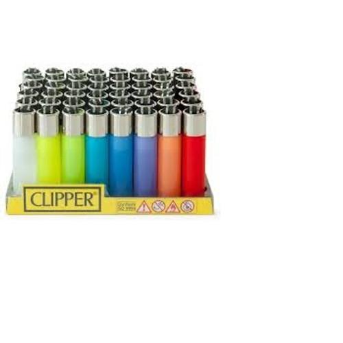 Glow In The Dark Clipper Mini Lighters