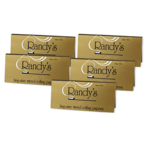 Randy's Classic's: King-Size Wired Rolling Papers 5-pack