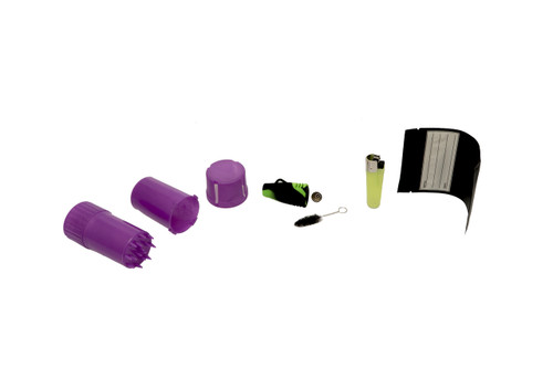 The Medtainer 7 Piece Kit: Silicone Pipe