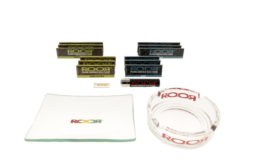 Roor Glass Rolling Kit: Connoisseur