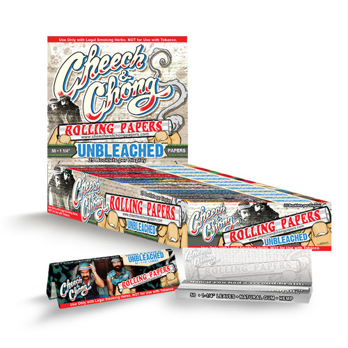 CHEECH AND CHONG UNBLEACHED PAPERS - 1 1/4