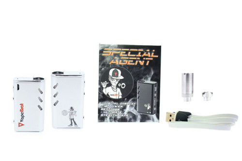 Special Agent Conceal Wax Vape Juice Pen Kit : White