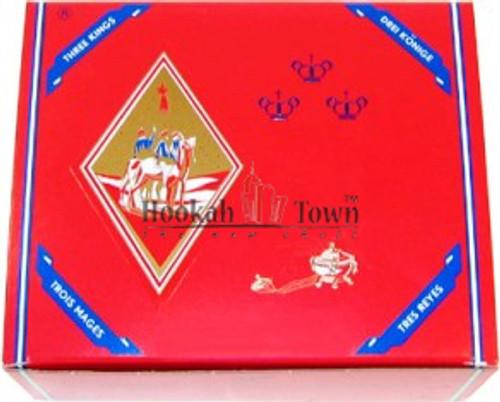 Three Kings Hookah Charcoals 1-Roll 10 Tablets (Small 33mm.)