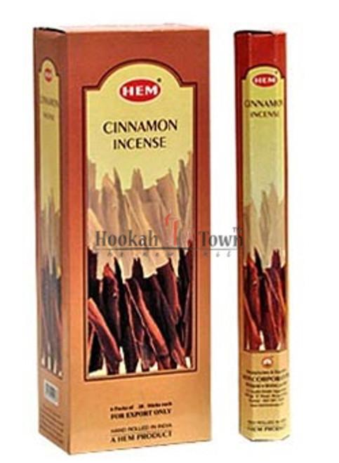 Cinnamon Incense: Hem: 20 Sticks