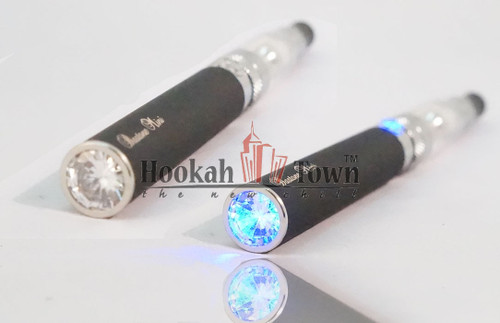 Refillable Hookah Pen Limited Edition: Bastone Diamond Tip CE5 650 MAH Battery