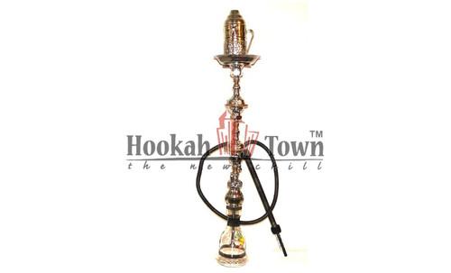 Authentic Handmade Deluxe Egyptian Hookah-Bar Hookah : 025 (Black)
