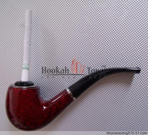 Tobacco Pipe w/ Cigarette Adapter