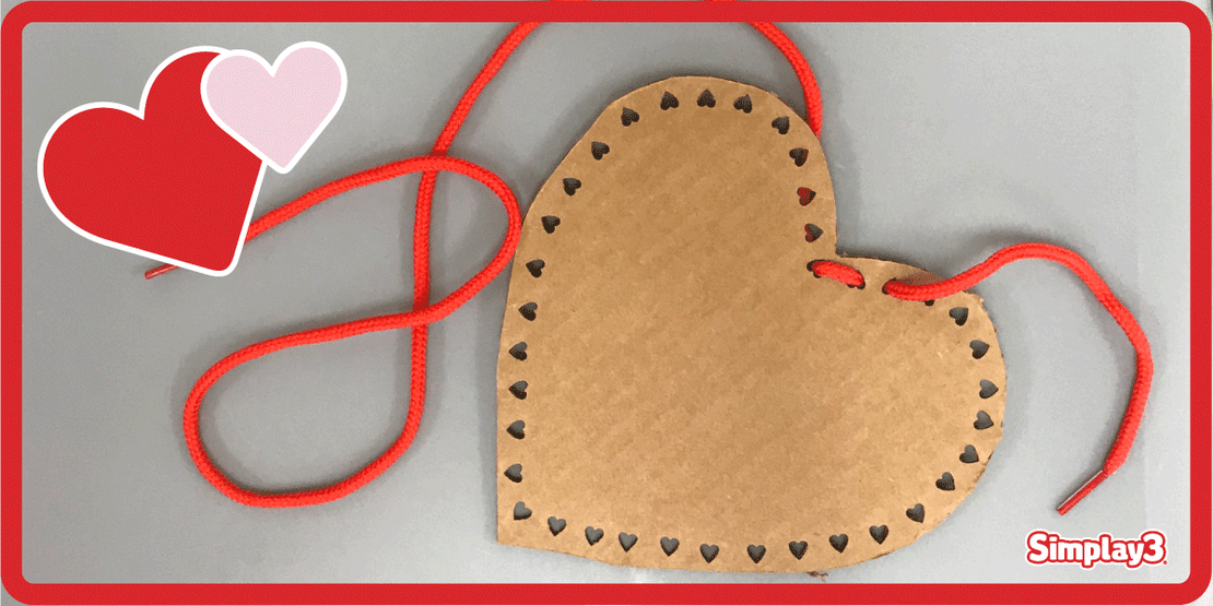 Threading Hearts: A Fine Motor Skills Development Activity