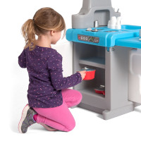 Simplay3 Play Around Kitchen and Activity Center with children's play oven.