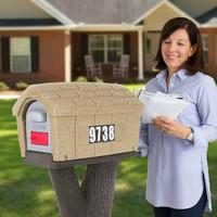 Rustic Home Mailbox