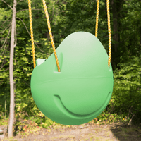 Simplay3 Snuggle Swing is a durable children's swing made with safety & comfort in mind