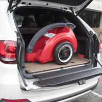 Compact storage means the Trail Master Wagon will go anywhere