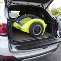 Trail Master 2-Seat Wagon is compact enough to fit in the trunk of most vehicles.