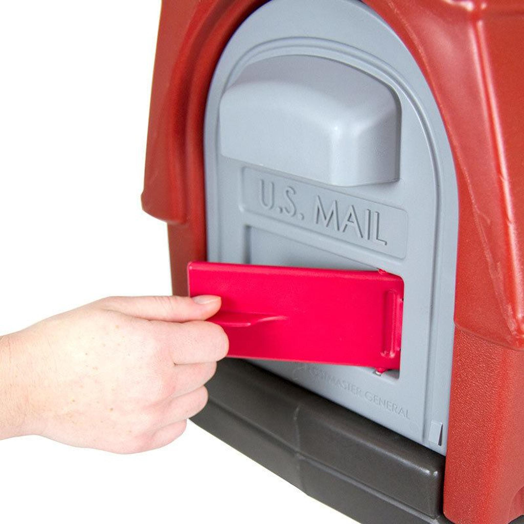 Rustic Barn Mailbox Mailbox Simplay3
