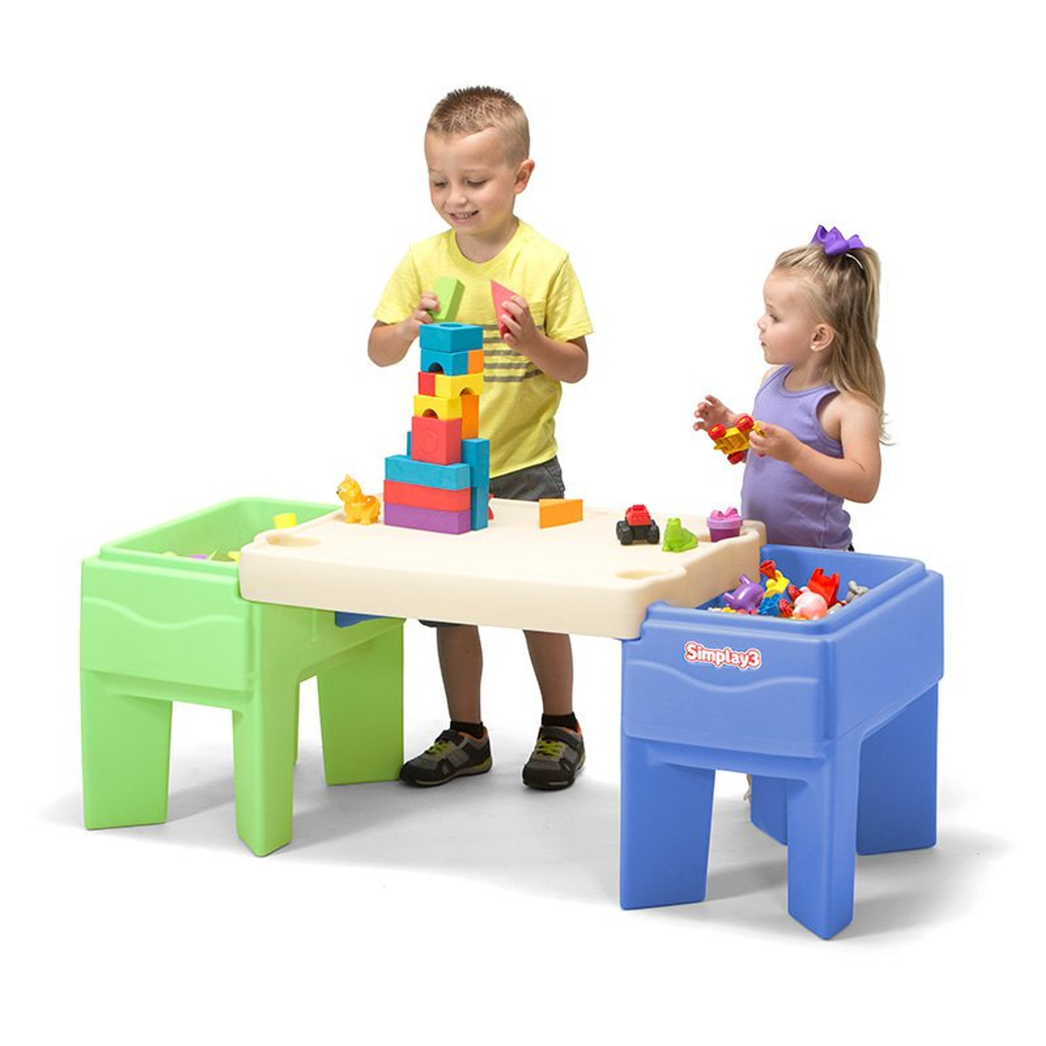 Simplay3 In U0026 Out Activity Table Configured As Childrenu0027s Build And Store  Play ...