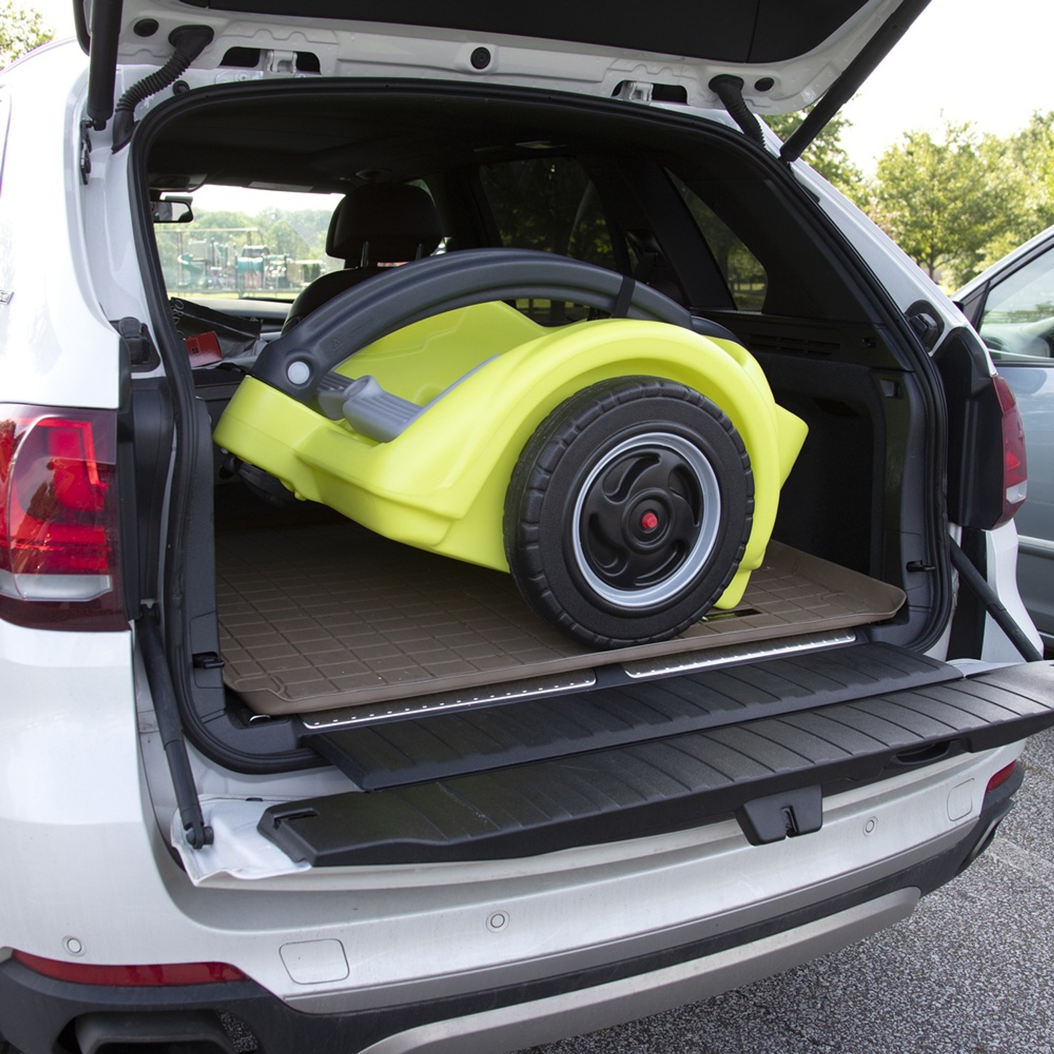 Trail Master 2 Seat Wagon Is Compact Enough To Fit In The Trunk Of Most