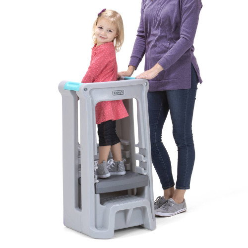 Simplay3 Toddler Tower in Gray
