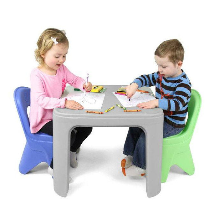Simplay3 Play Around Table and Chair Set for safe all-purpose child play activities from ...  sc 1 st  Simplay3 & Play Around Table \u0026 Chair Set   Kids Table and Chairs   Simplay3