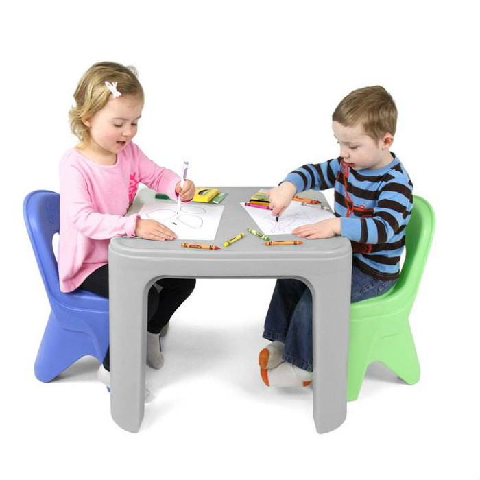 Periwinkle Blue And Simplay3 Play Around Chairs Complement Childrenu0027s Play  Around Table And Chair ...