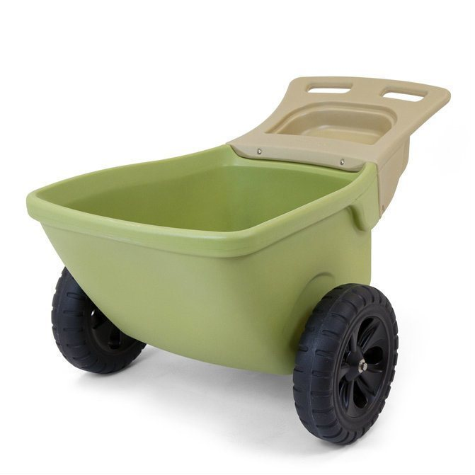 Ordinaire Simplay3 Easy Haul Wheelbarrow Two Wheeled Heavy Duty Plastic Wheelbarrow  Is A Lightweight And Easy To ...