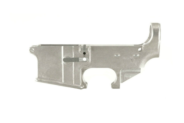 Ghost Firearms raw 80% AR-15 lower receiver.