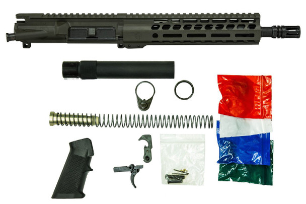OD Green AR15 Pistol kit by Ghost Firearms in .300 AAC Blackout