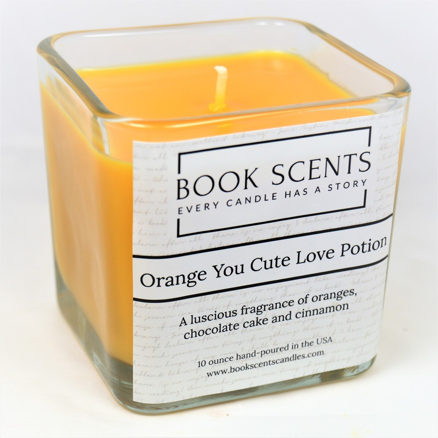Orange You Cute Love Potion Scented Candle