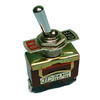 STANDARD SIZE TOGGLE, SPST 15A @120V, ON-OFF, SCREW