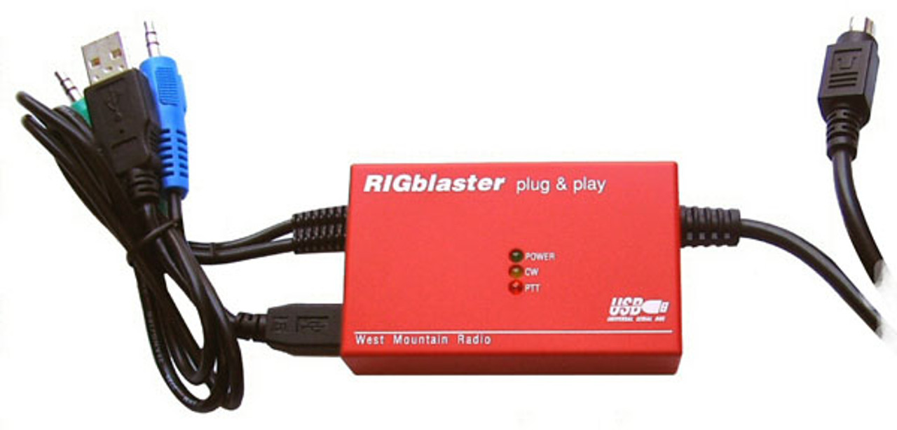 West Mountain Radio RIGblaster Plug & Play