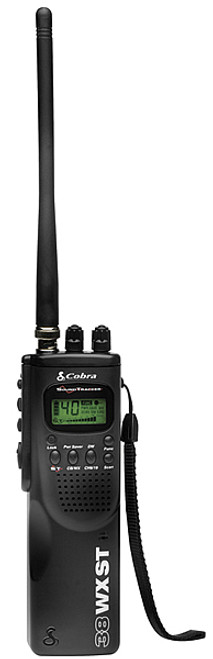 Cobra HH-38WXST 40 Channel Hand Held CB Radio with Weather and Soundtracker