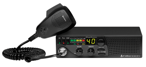 Cobra 18WXSTII with SoundTracker® and NOAA Weather